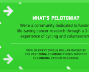Pelotonia donation